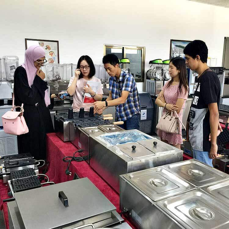 Fast Food Kitchen Equipment Bought By Clients From Qatar