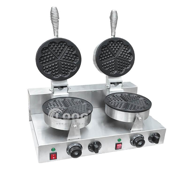 Commercial Belgian Waffle Iron