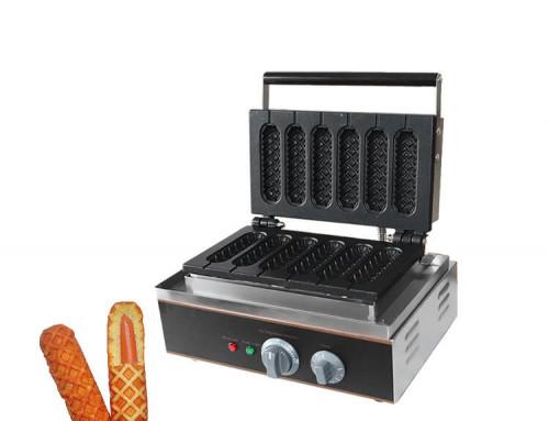 Waffle Stick Maker Commercial Hot Dog Waffle Machine
