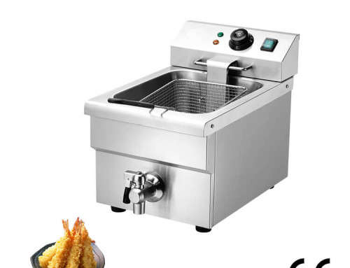Commercial Deep Fryer for french fries with one basket