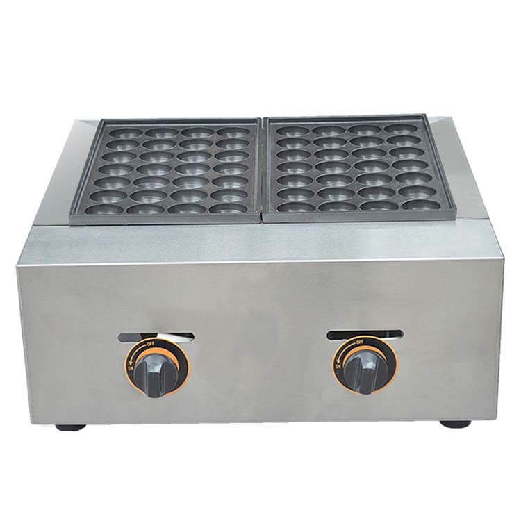 Gas Takoyaki Baking Machine Aluminum Plate