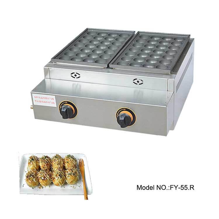 Gas Takoyaki Making Machine