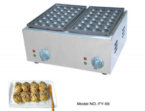 Electric Takoyaki Maker High Quality Stainless Steel