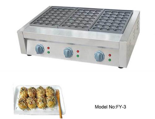 Professional Takoyaki Equipment Machine Iron Plate Manufacturer