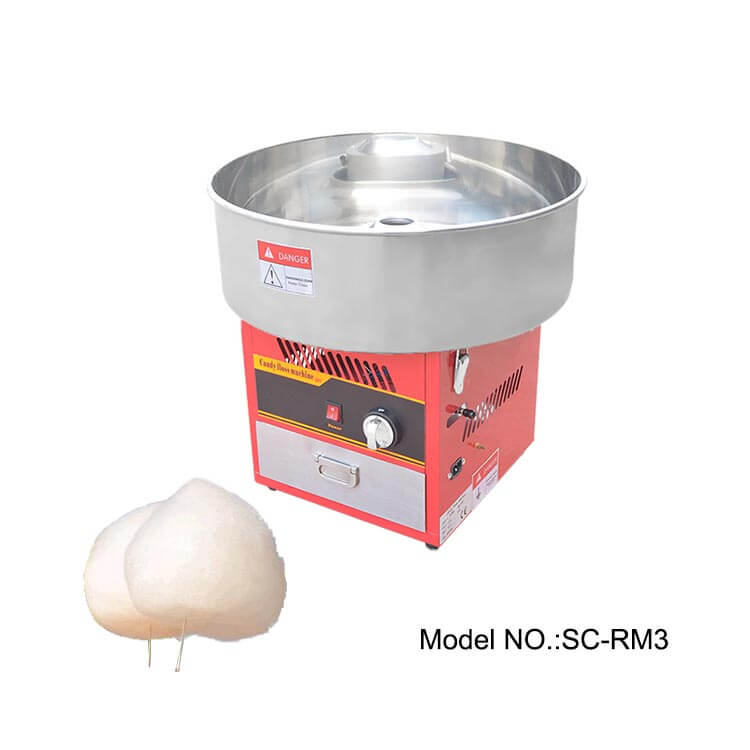 how to properly clean a cotton candy machine