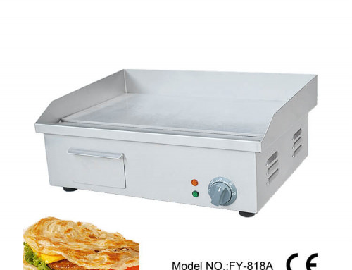 Commercial Countertop Griddle Electric Grill Hotplate