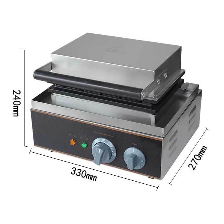 Hotdog Waffle Maker Machine