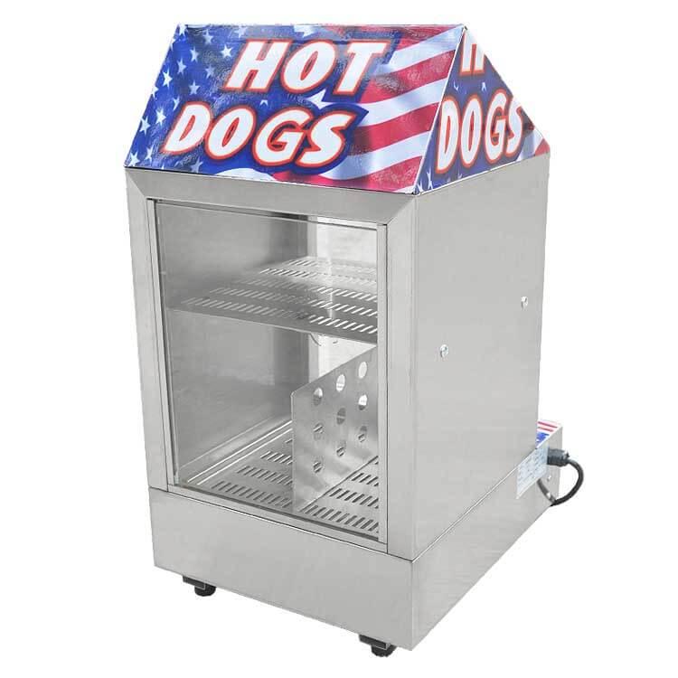 Hotdog Warmer Display Showcase