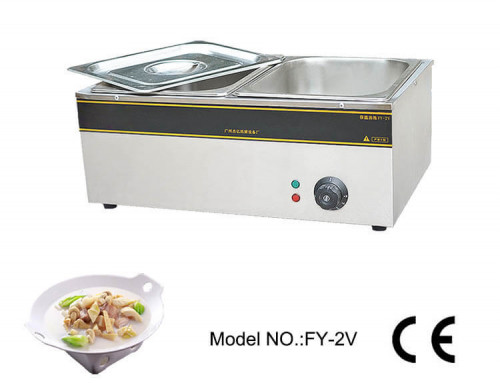 Buffet Bain Marie Portable Double 2 Pot Foodwarmer