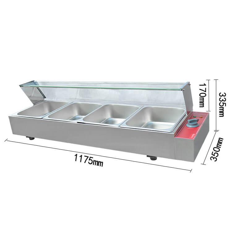Industrial Tabletop Food Warmers