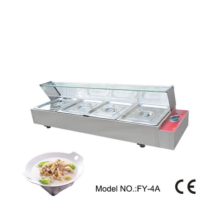 Square Food Warmer Professional Bainmaire Machine Sale