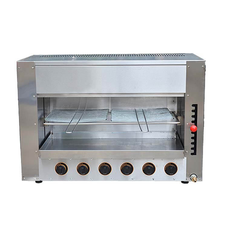 Gas Salamander Grill For Commercial Kitchen Appliance