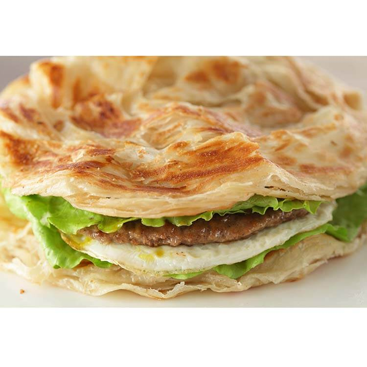 Scallion Pancake Make By Griddle