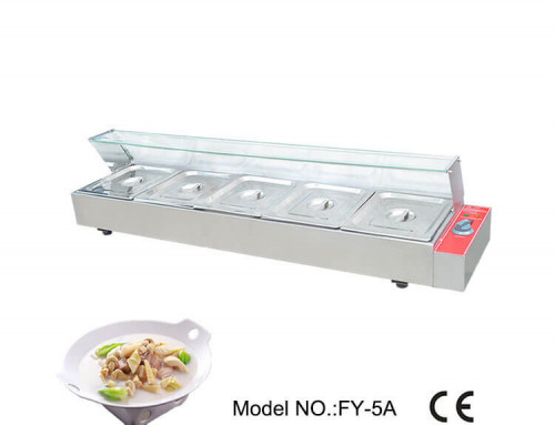Commercial Bain Marie Price Electric With Glass Guard
