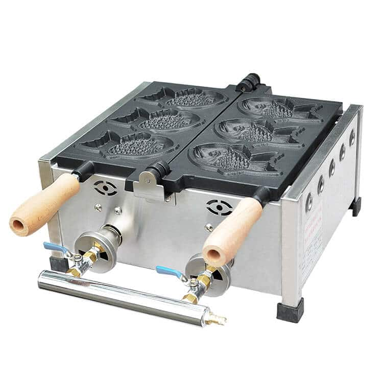 Gas Taiyaki Machine
