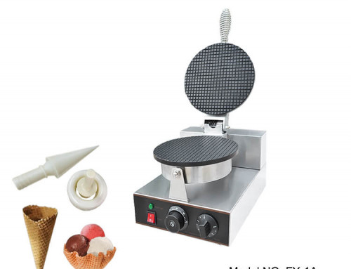 Commercial Waffle Cone Maker For Ice Cream Cone Machine