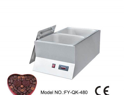 Commercial Chocolate Melting Machine Double Tanks Distributer