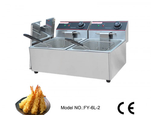 Electric countertop deep fryer available in stock