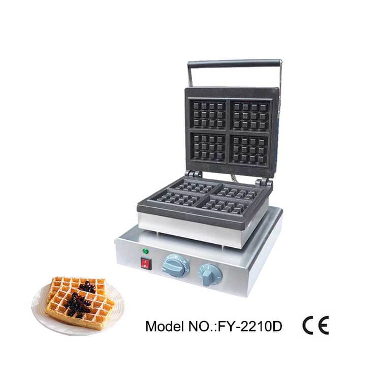 Commercial Square Waffle Maker