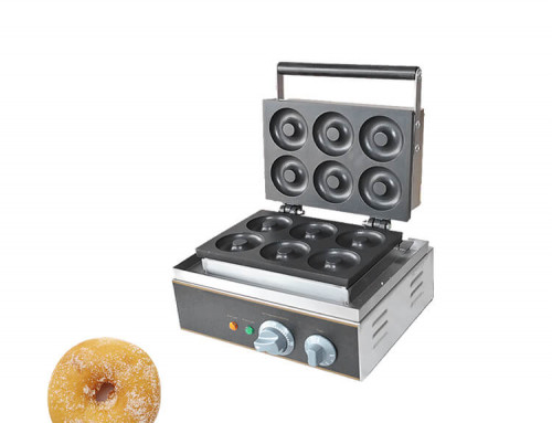 Donut Maker Commercial Teflon Nonstick Aluiminum Plate with 220V