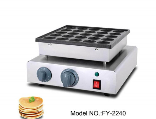 Mini Pancake Machine Teflon Coating Poffertjes Machine