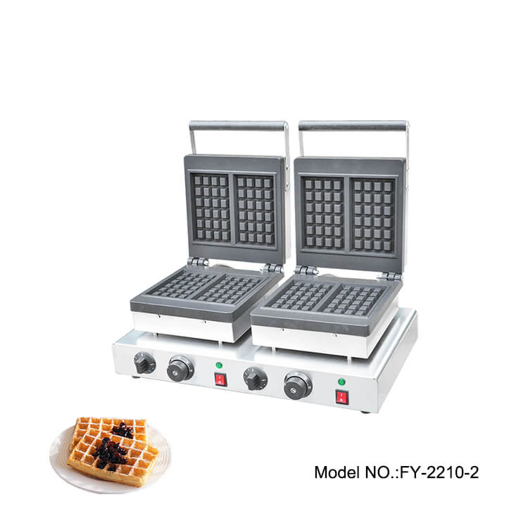 Commercial Double Waffle Maker