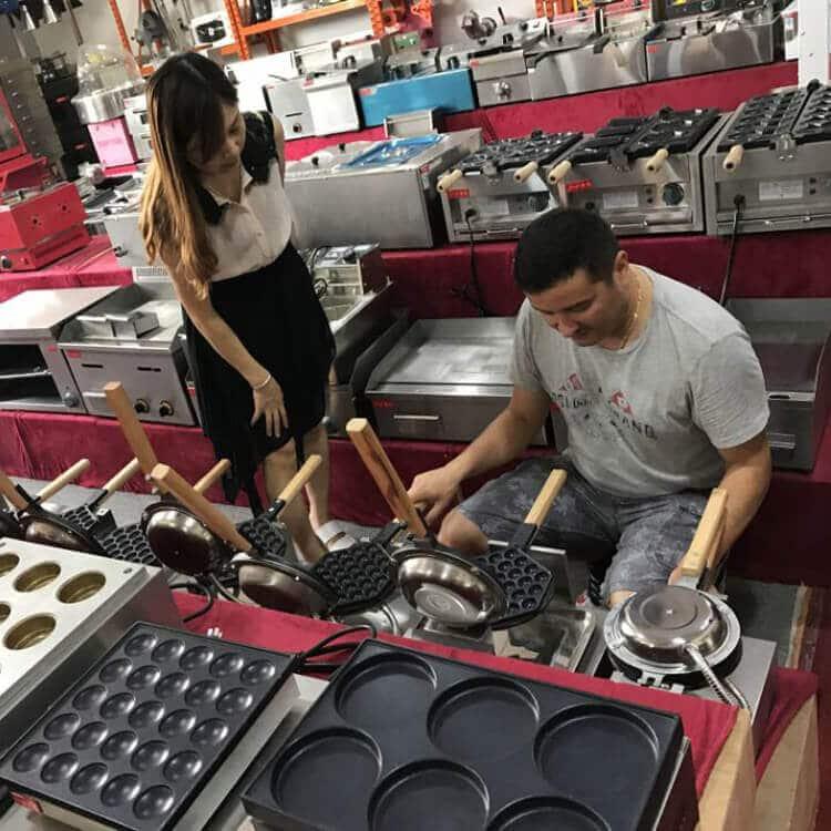 Commercial Eggette Waffle Maker