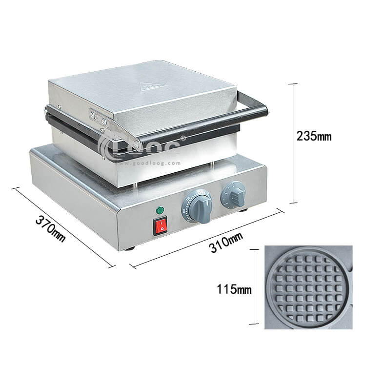 Flip Waffle Maker with Timer