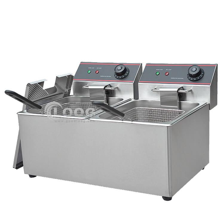 Commercial Electric Countertop Fryer