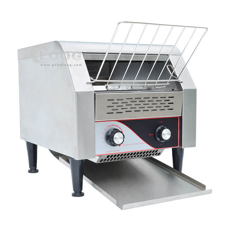 mercial conveyor toaster for making bread with golden color