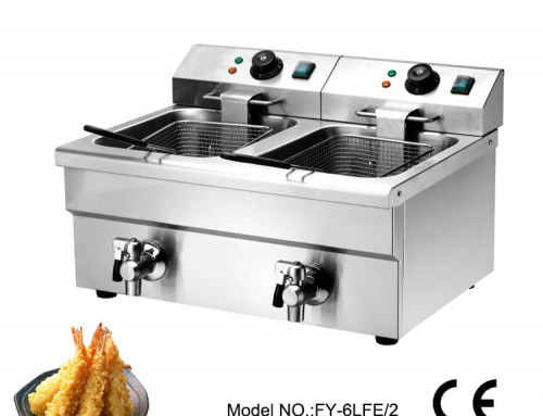 French fries deep fryer commercial  use with oil filter