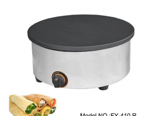 Crepe Maker Gas Round Crepe Maker With Wooden Handle