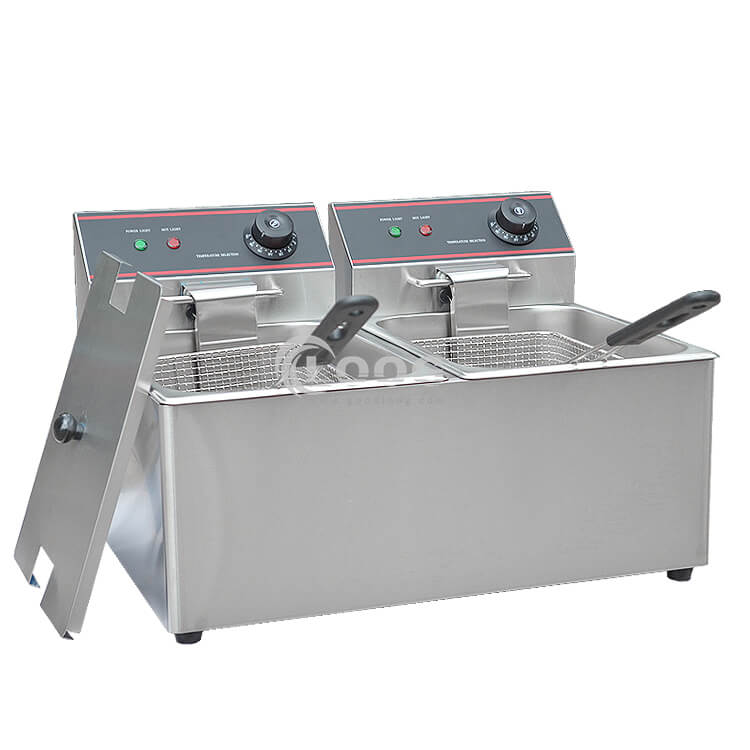 Electric Deep Fryer With Basket