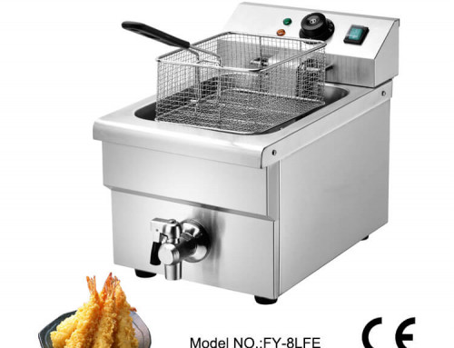 Restaurant deep fryer for commerical use with oil filter