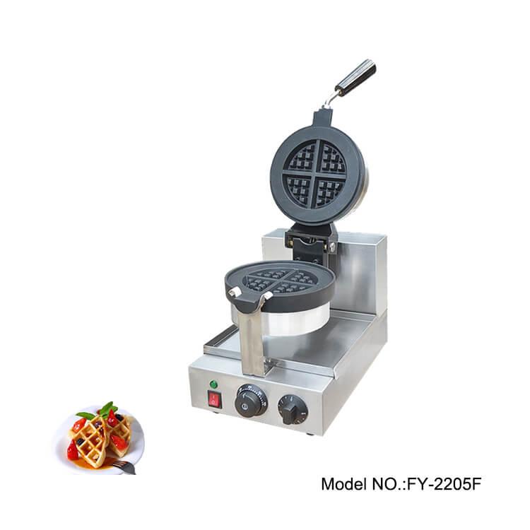 Round Belgian Waffle Maker