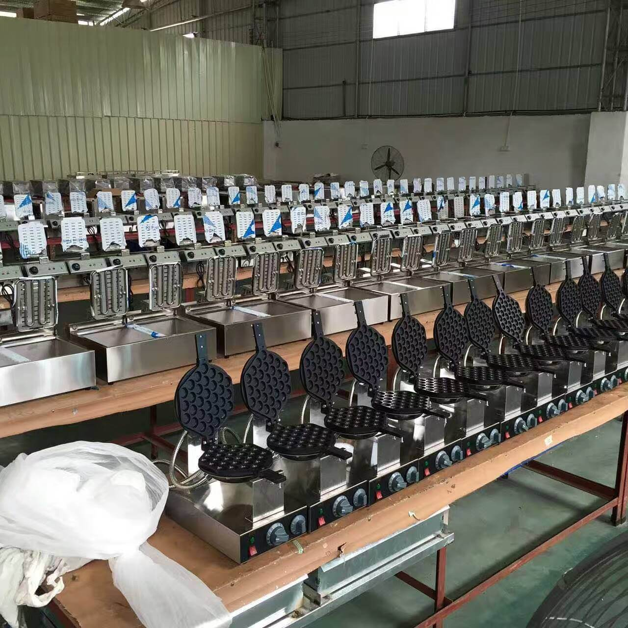 Egg puff maker manufacturer