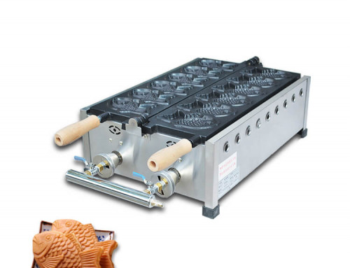 Taiyaki grill stainless steel factory, commercial taiyaki maker