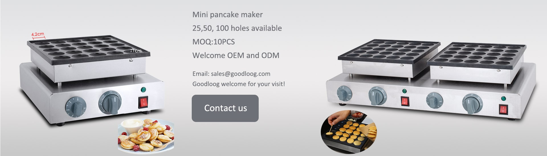 Mini Pancake Machine for sale