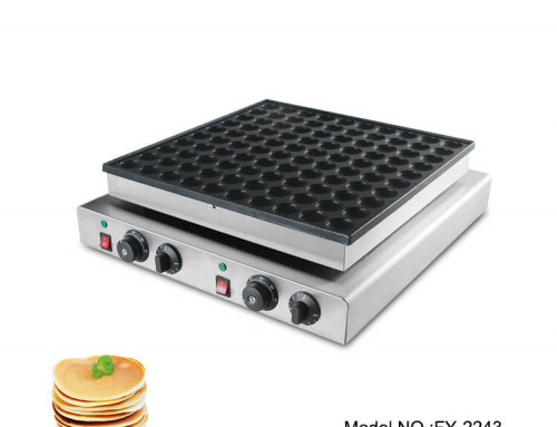 Commercial dutch pancake maker with 100 holes for sale