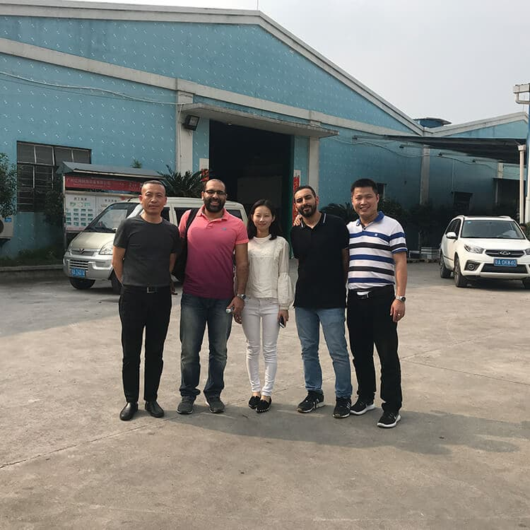 Clients from Saudi Arabia Visit Goodloog Kitchen Equipment Factory