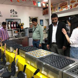 Commercial takoyaki maker manufacturter in China