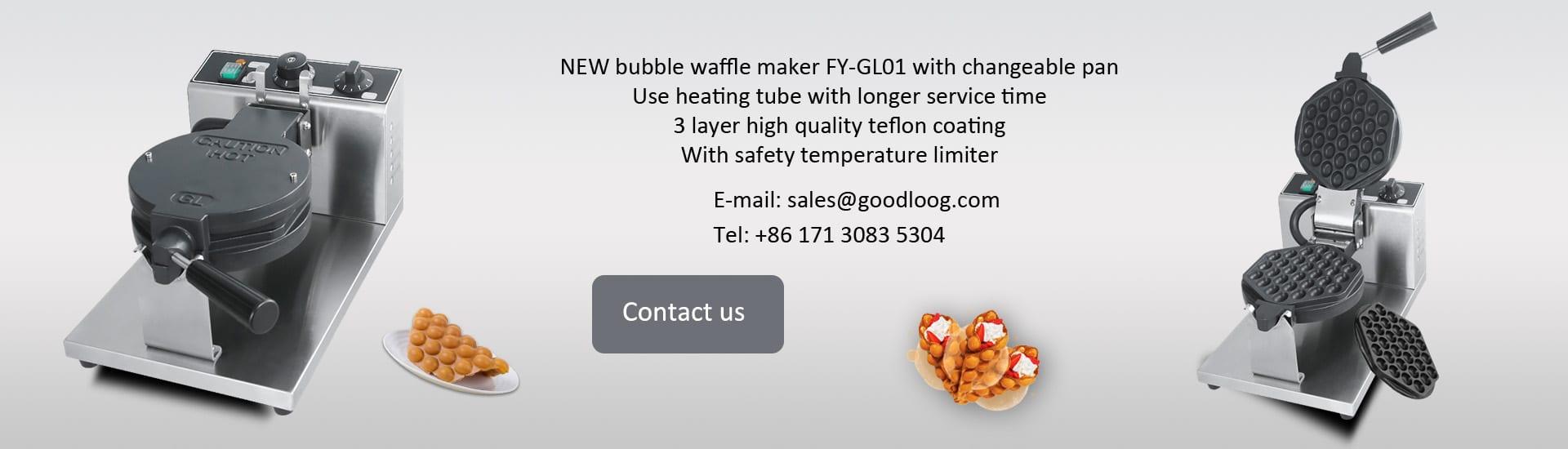 Bubble waffle maker manufacturer