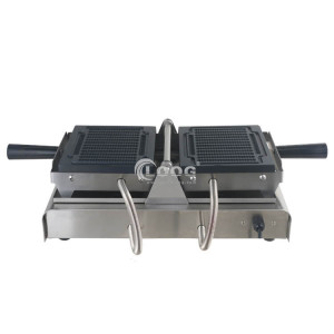 Commercial waffle stick maker