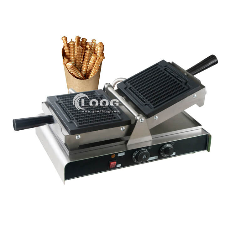 Waffle on a stick maker