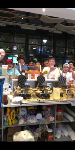 Bubble Waffle Machine in New York
