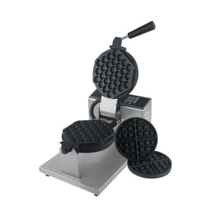 Bubble Waffle Maker with Belgium waffle plate