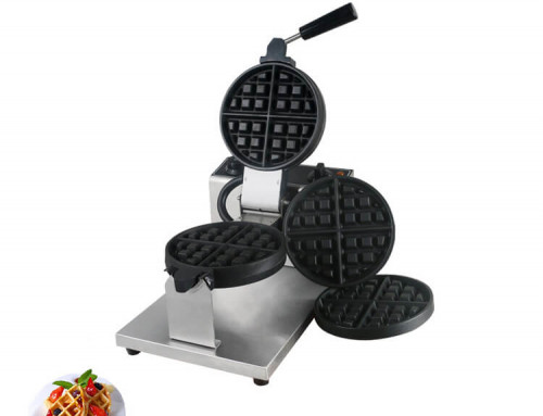commercial grade waffle maker with changeable plate for hotels