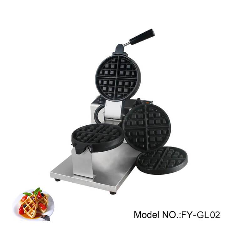 Commercial grade waffle maker