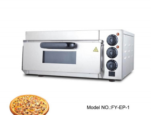 Electric Pizza Oven Commercial Single Deck for Hotel Use