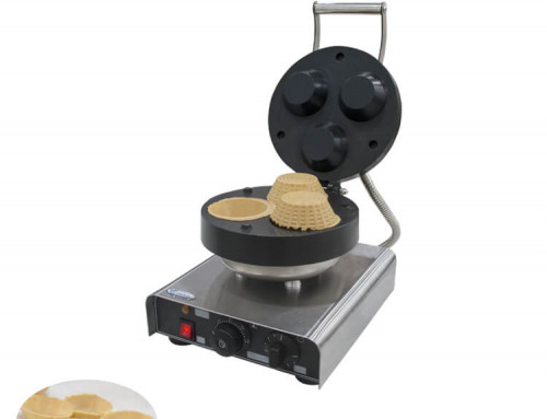 Commercial Waffle Bowl Maker With Non-stick Surface For Sale